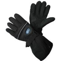 Wholesale Rechargeable lithium battery heated gloves / hand warmer Blackpurple heating gloves from china suppliers