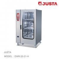 Wholesale JUSTA Electric Baking Oven 20-Tray 40-Pan Combi Steamer Computer Control System from china suppliers