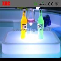 Wholesale New Designed PE Material Luminous KTV Cocktail Plate from china suppliers