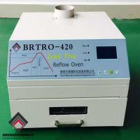 Wholesale Hot air + Infrared 2500w Reflow Oven BRT420 300*300mm SMT SMD BGA Rework Station from china suppliers