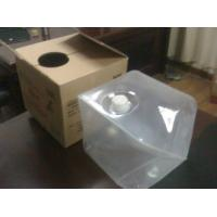 Buy cheap 4L to 20L Cube Collapsible Plastic Container, LDPE Medical Gel Containers from wholesalers