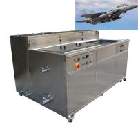 Aircraft Accessories Industrial Ultrasonic Cleaning Machine For Steel Aluminum Copper Brass