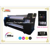 Quality Large Format Polyester / Cotton / Silk Textile Printing Machine Pigment Ink for sale