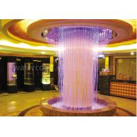 Wholesale Beautiful Indoor Water Fountain / Water Curtain RGB Lights For Decorating Large Hall from china suppliers