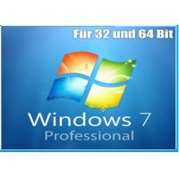 Wholesale OEM Version Windows 7 Softwares Pack With Key Code Original Microsoft 32 / 64 bits from china suppliers