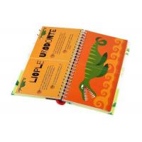 Wholesale Glossy Paper Coil Spiral Bound Book Printing Service Hardcover Book For School from china suppliers