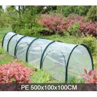 Wholesale PE Five Door In The Side Pop Up Greenhouse Tent Grow Tunnel For Plants And Flowers 13 KGS Each in an oxford from china suppliers