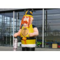 Wholesale Customized Inflatable Viking Doll Giant 420D Oxford Cloth For Outdoor Event from china suppliers