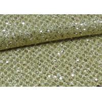 Wholesale Foil Plain Polyester Glitter Stretch Mesh Fabric For Making Shoes Bags Wall Paper from china suppliers