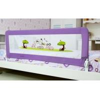 Wholesale Purple Woven Net Childrens Bed Guards For Twin Bed / Aluminum Bed Rails from china suppliers