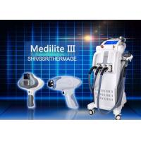Wholesale Vertical SHR SSR Thermage Hair Removal / Skin Rejuvenation Machine from china suppliers