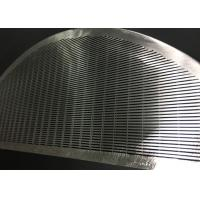 Wholesale Stainless Steel Wedge Wire Screen Filter Element For Filtration / Separation In Juice Production from china suppliers