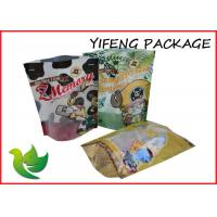 Wholesale Waterproof Printing Pet Food Bags With Ziplock Standing Pouch from china suppliers