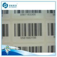 Wholesale Anti-theft Serial Number Self Adhesive White Price Barcode Label For Marker , Shop , Mall from china suppliers