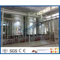 Quality 2TPH 5TPH SUS304 SUS316 Full Automatic Milk Dairy Plant With Plastic Bag Package for sale