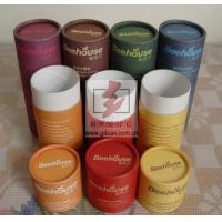 Wholesale Long Printed Wine Gift Tube Box CMYK Recycled With Shake Top from china suppliers