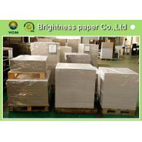 Wholesale Waterproof CCNB Grey Card Paper Board , Grey Recycled Paper Roll Eco Friendly from china suppliers
