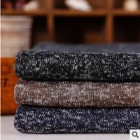 DIRECT MANUFACTURER TWO TONE COURSE GAUGE WOOL CLOTHING COURSE GAUGE FLANNEL FABRIC