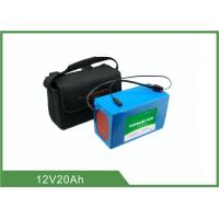 Wholesale 12V 20Ah Light weight Solar Light Batteries , Lithium Battery Pack 2 Years Warranty from china suppliers