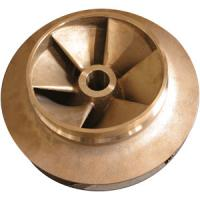 Wholesale ASTM, GB,DIN,EN centrifugal pump brass impeller resin sand casting from china suppliers