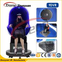 Wholesale 1.5KW Multiplayer Game Machine 9d Cinema Simulator With 360 Rotating Helmet from china suppliers