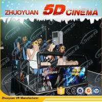 Wholesale 3 DOF Virtual Reality 5D Movie Theater With Electric Motion Dynamic Seats System from china suppliers