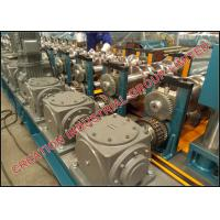 Buy cheap Two / Three Wave Highway Guardrail Roll Forming Machine Thickness 3mm±0.2mm from wholesalers