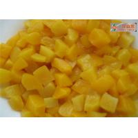 Wholesale PH 3.6 Organic Canned Fruit , Fresh Canned Peaches In Water / Juice from china suppliers