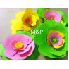 Buy cheap Orange pink grass green white 1mm 10cm x10 cm origami roses Sponge Eva plastic DIY manual paper paper kindergarten from wholesalers