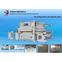 Wholesale Auto Feeding Laminate Hydraulic Paper Die Cutter Machine For Foam , Protective Film from china suppliers