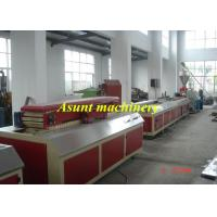 Wholesale PVC Board / Door Plate WPC Profile Machine Double - screw 380V from china suppliers