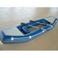 Wholesale Customized Inflatable Sea Kayak 2 Person Inflatable Boat With Airmat Floor from china suppliers