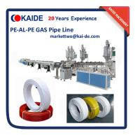 Wholesale PE-AL-PE Pipe Making Machine 16mm-32mm/Gas PE-AL-PE Pipe Extrusion Machine from china suppliers