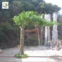 Wholesale UVG GRE051 best selling products factory direct green banyan artificial tree for weddings from china suppliers