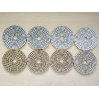 Wholesale #50 #100 #200 #400 125mm White Wet Polishing Pad Thickness 2.5-3.0mm from china suppliers