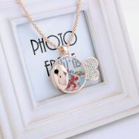 Wholesale Jewellery pendant cute pendant jewelry made with swarovski element crystal lucky fish necklace from china suppliers