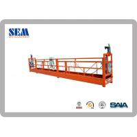Wholesale ZLP400 Steel construction swing stage equipment With Suspended Platform from china suppliers