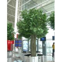 Wholesale hall/hotel indoor landscaping artificial banyan tree from china suppliers