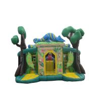 Wholesale Green PVC Inflatable Swimming Pool Slide For Adult UV - Treated from china suppliers