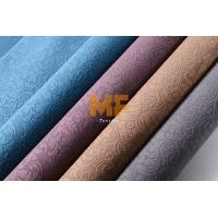 Wholesale Car Interior / Home Textile 3D Burnout Velvet Curtain Fabric Striped Upholstery from china suppliers