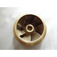 Wholesale Silicon Brass Centrifutal Pump Impeller Solid Work , Resin Sand Casting from china suppliers