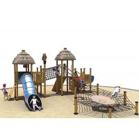 Wholesale Games Wooden Playground Fitness Equipment Kai Qi Playground Non- Toxic Medium Size from china suppliers