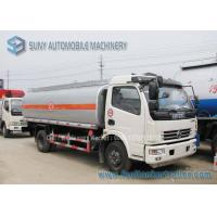 Quality Dong Feng Chemical Tanker Truck Oil Tank Trailer 70000 L Carbon Steel for sale