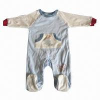Buy cheap Baby's Romper, Made of 100% Cotton from wholesalers
