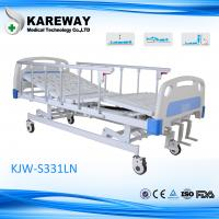Wholesale 3 Cranks Manual Type Hospital Care Bed Height Adjustable With Food Dinner Board from china suppliers