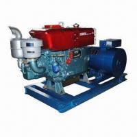 Wholesale Industrial generator set with diesel engine and alternator from china suppliers