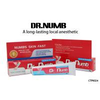 Wholesale Dr. Numb Gel External Use Strongest Tattoo Numbing Cream 5% Lidocaine from china suppliers