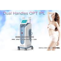 Wholesale 10Hz Speed IPL Hair Removal Machine / Dual Handles Elight IPL Beauty Equipments from china suppliers