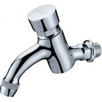 Wholesale Modern Water Saving Self-Closing Faucets / Wall Mounted Brass Mixer Taps HN-7H07 from china suppliers