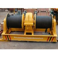 Wholesale Fast speed double drum electrical wire rope winch shipyard apply from china suppliers